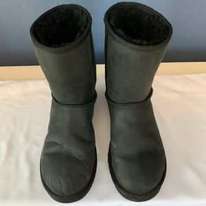 UGG Soft Leather Short Boots